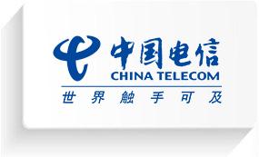 与中国电信合作
